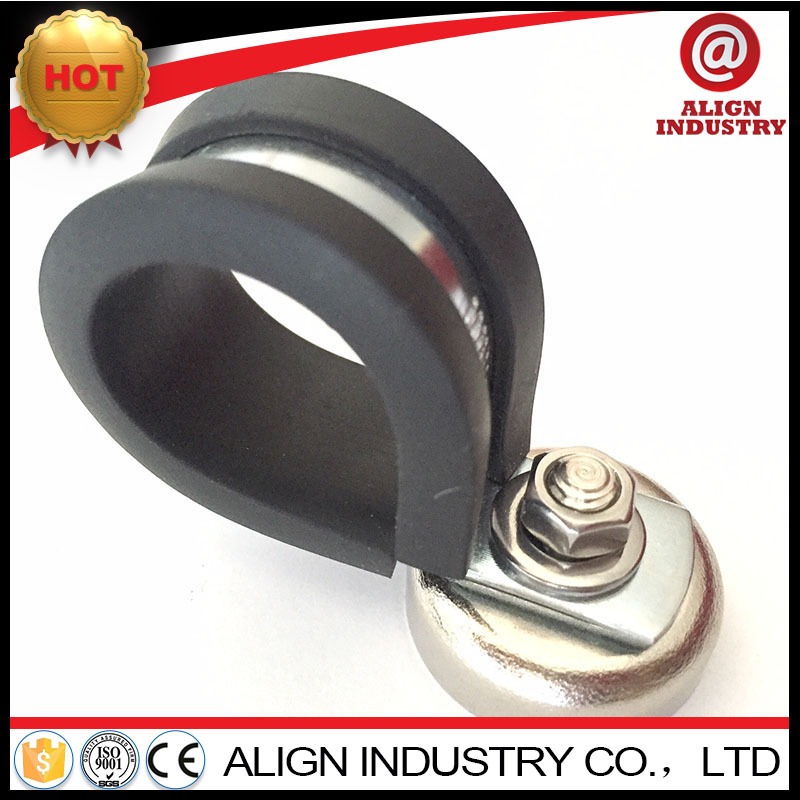304ss cushion p clips zhaoxiang 12mm band steel vinyl dipped cable clamps fixing pipe clamp