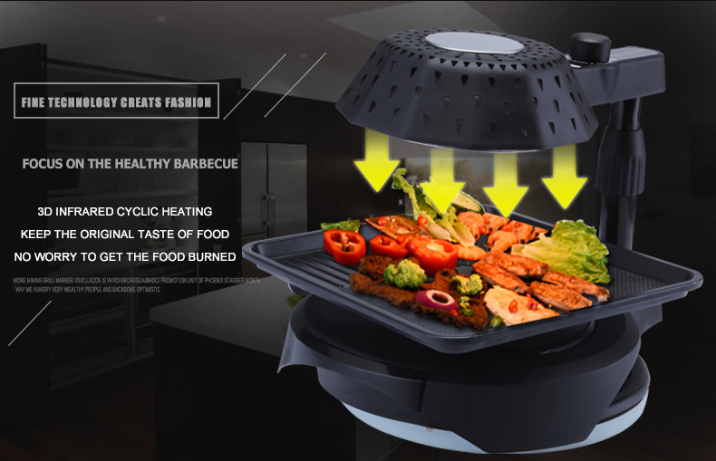 6-burner infrared gas barbecue bbq cooking grills