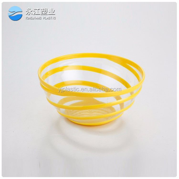 wholesale plastic noodles bowl plastic eco-friendly kitch washing bowl with strainer collapsible bowl