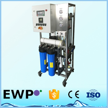 EWP LPRO-P16-1500 commercial/industrial RO system water purification plant 1500gpd with PLC controller