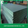 Green Colour Waterproof Medium Density Fiberboard ( MDF Board )