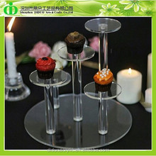 DDC-0215 Trade Assurance Mini Cupcake Stand Crystal