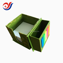 note pad in cardboard box custom promotion memo pad note pad cube