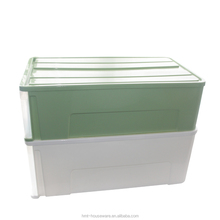Taizhou Hengming stackable plastic bin custom plastic container manufacturer cheap plastic storage drawers