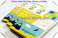 Cheap full color printing passport size booklet