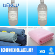 Silicone micro emulsion for polyester woven knitted cotton