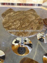 Hot selling onyx marble top coffee table