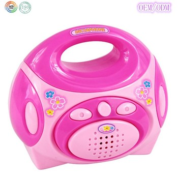 Dongguan ICTI Factory Kids plastic cartoon music radio toys music instruments toys for kids