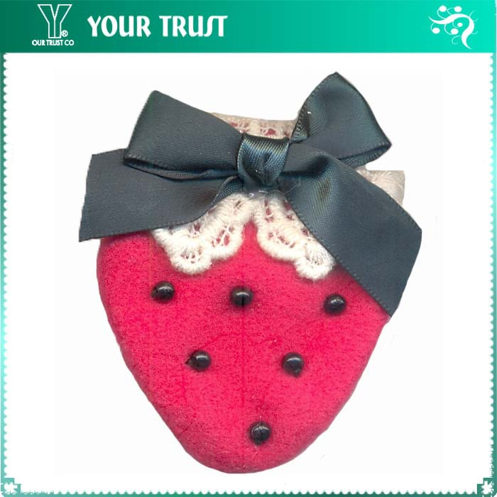 Promotion Cute Baby Hats/Hairband/Garment/Dresses lovely strawberry handmade