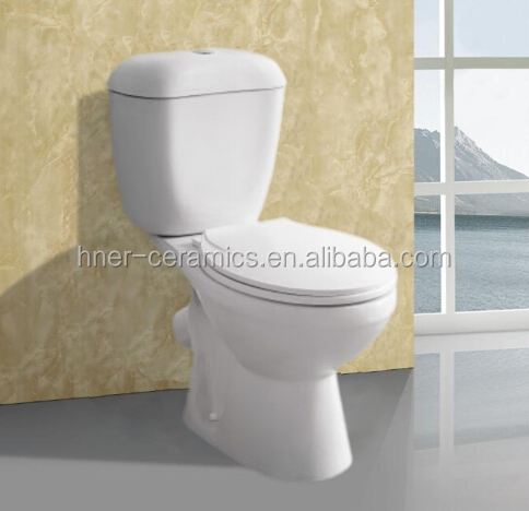 p trap wc two piece ceramic sanitary toilet made in china