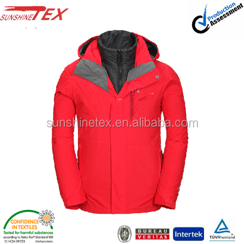 Mens active winter jacket clothing 2015