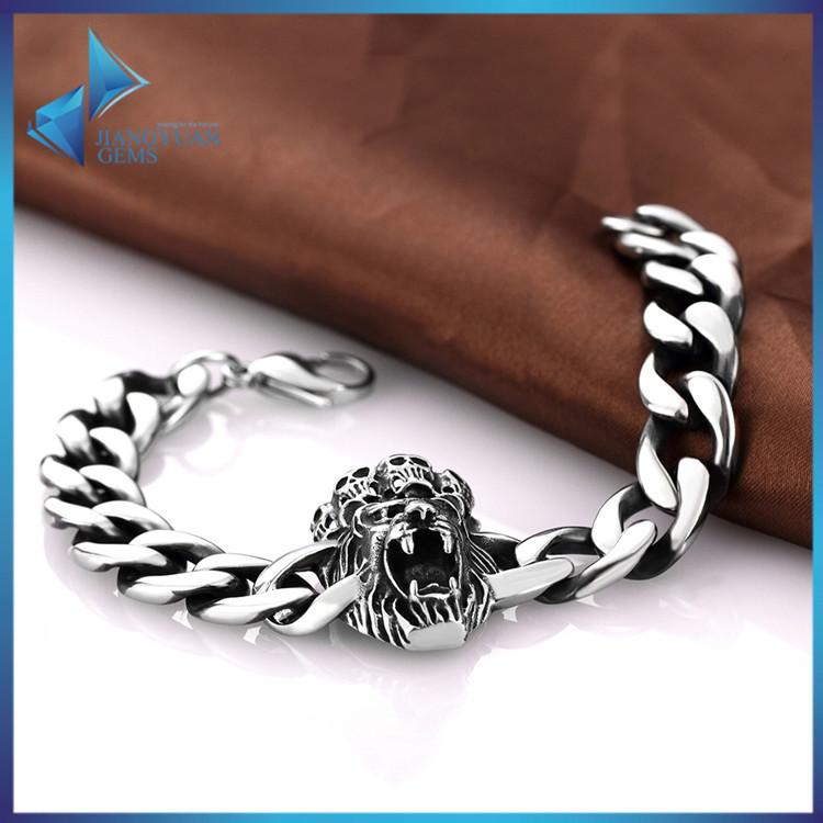 hip hop jewelry skull bracelet for buy skull