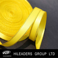 High Quality Gold Edge Satin Ribbon AAH335