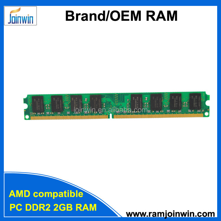 Factory for sale Brand/OEM Desktop 256mbx4 16ic AMD ddr2 2gb ram