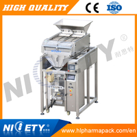 Electronic cookies biscuit counting and packing machine