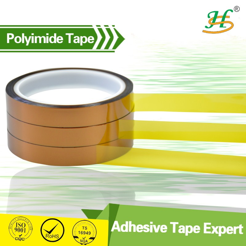 Heat resistant polymide film roll silicone adhesive PI tape