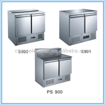 with CE certificate cold air gastronorm cabinet/ kitchen refrigerator/stainless steel restaurant salad refrigerator
