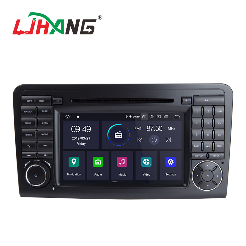 LJHANG 7inch Android 9.0 2+16G car radio <strong>dvd</strong> player for Mercedes Benz ML350 ML320 <strong>W164</strong>