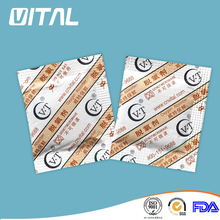 oxygen absorber with sugar msds & fda/natural food preservative for biscuits/calcium chloride desiccant/ indicator