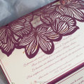 Pocketfold Laser Cut Wedding Invitations