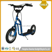 New Designs Two Rubber Wheels Kick Scooter For Kids 5+ Age