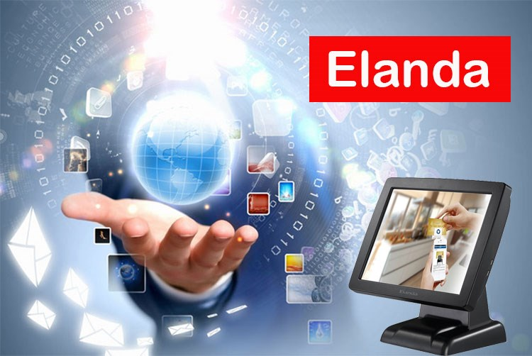 China factory Elanda T310 Windows 10 OS touch screen retail pos systems