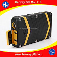 Travel Portable Power Bank 18000mAh Outdoor External Power Charger Waterproof Shockproof Rugged Power Bank