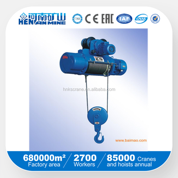garage use Wire Rope Electric Hoist 500kg