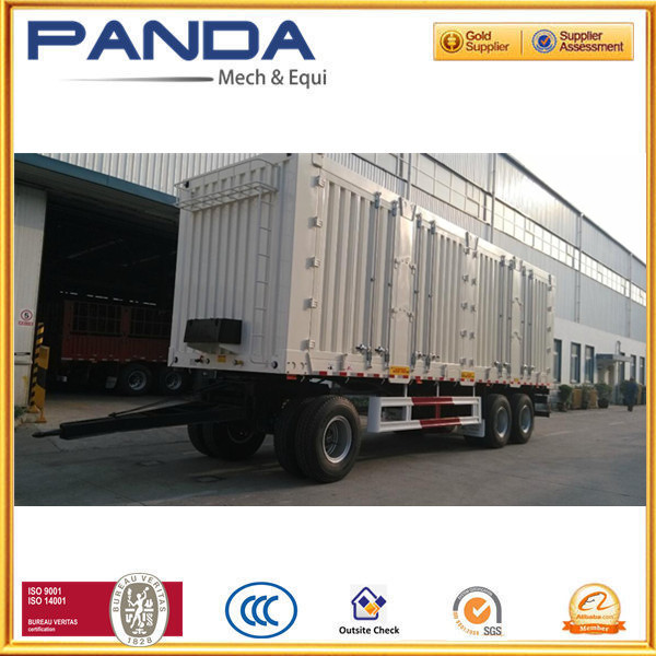 45tons Pulling cargo trailer with drawbar ,40tons full trailer for sale