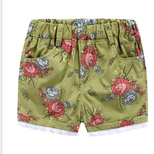 MS69675C summer beach lace design kids 2016 new child shorts