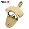 Promotional metal gold wall mounted wine bottle opener