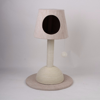 Fashion Nordic Style Lamp Shape Cat Tree Furniture
