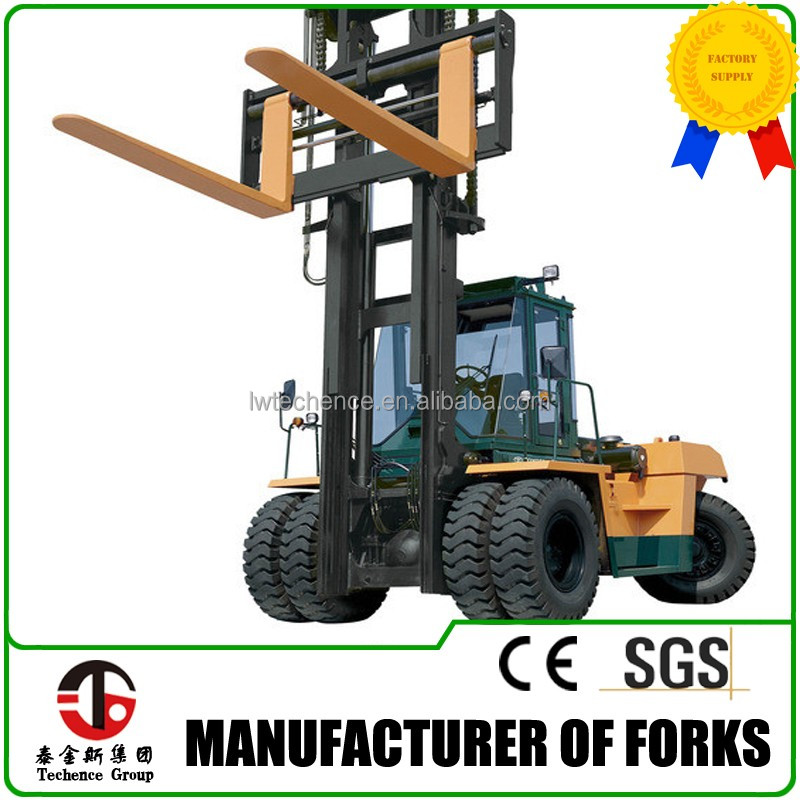 High strength The sleeve shape forklift forks