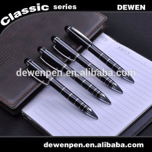 metal twist pen with metal clip for promotional and gift