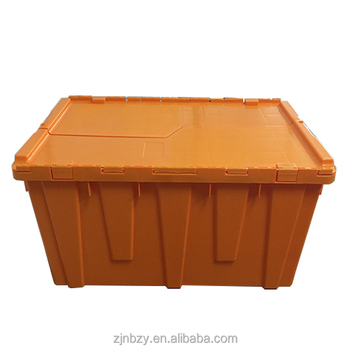 2017 Heavy-duty plastic container with Sawthtooth Lids