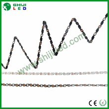mini ws2812b/sk6812 dc5v addressable pixel flexible neon s shape digital led strip