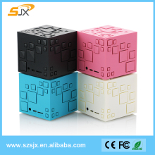 2016 Magic Cube Design Mini Bluetooth Speaker Q+ TF FM Wireless Portable Bluetooth Speaker