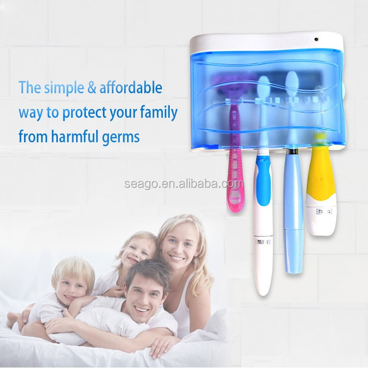 Wall Mounted UV Toothbrush sanitizer SG103