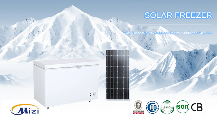 108L freezer 12V/24V Solar DC Freezer single door freezer