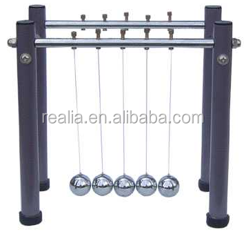 Collision Apparatus ,Pendulum Balls ,Newton's Cradle Steel Balance Ball Physics Science Pendulum Desk