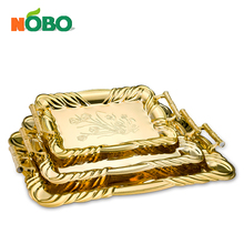 Nobo Stainless Steel fancy food tray fruit tray