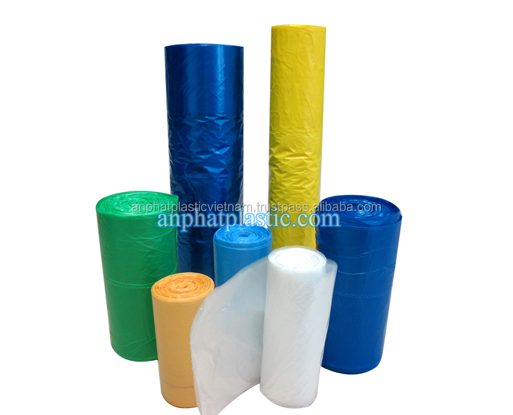PE cheap disposable plastic garbage bag