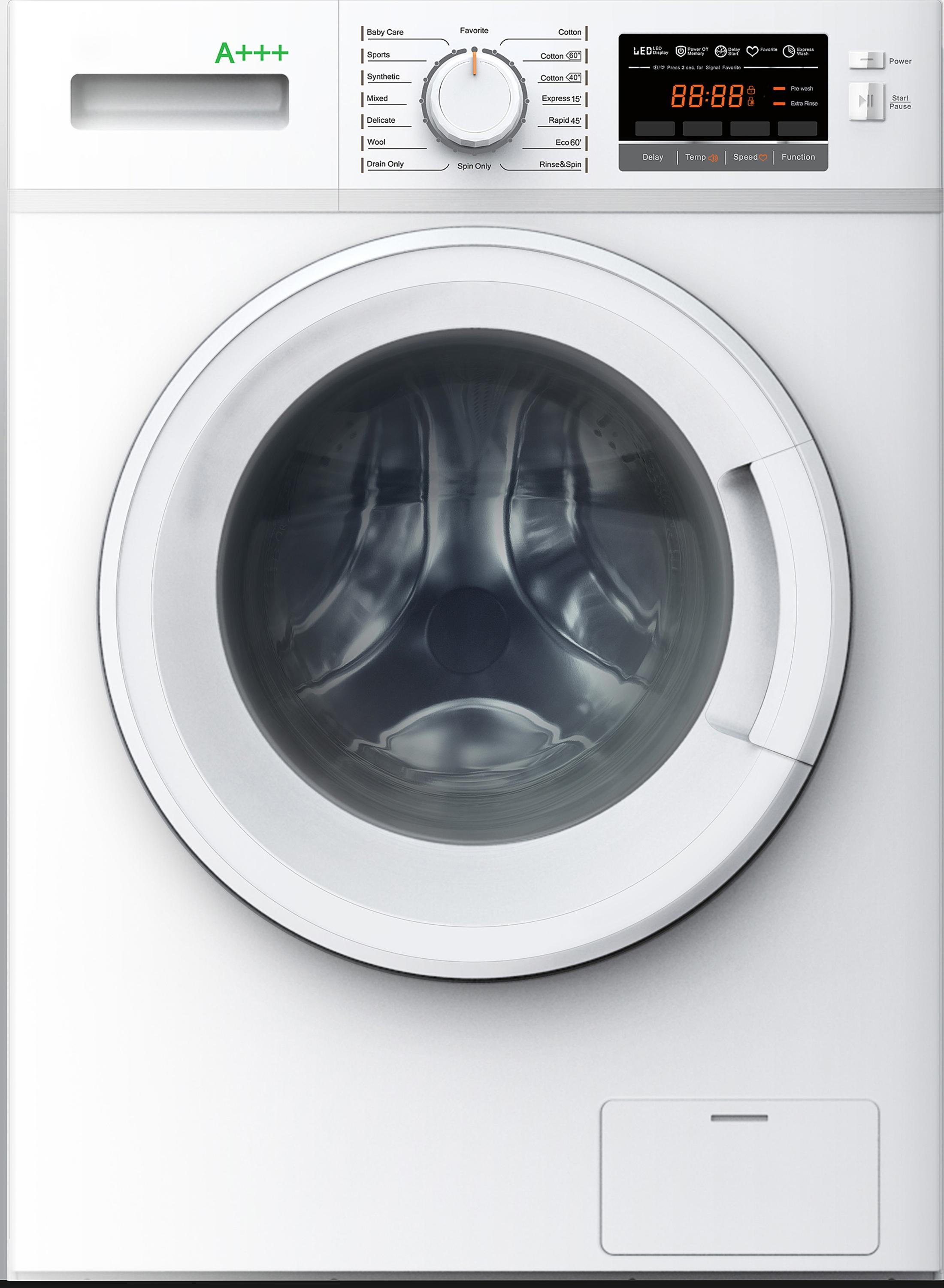 Hot Selling Full Automatic Washing Machine With Anit-foaming Sensor