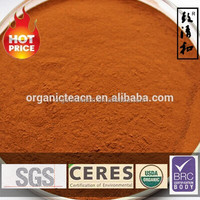 Oganic black tea powder/instant powder Direct Manufacturer CERES BRC EC NOP Certified natural food additives