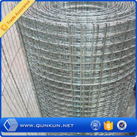 innovative new products high quality 1 inch galvanized welded wire mesh from Qunkun