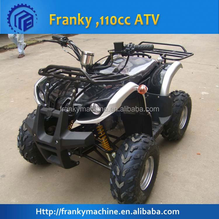 New design kawasaki quad atv 110cc