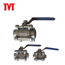 wafer dn32 dn40 cf8m stainless steel ball valve