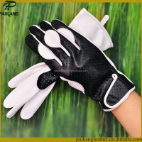 Special holes design dress gloves customized logo winter fashion mens white dress gloves