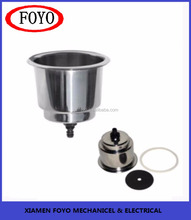 Stainless Steel Drink Cup Holder Poker Table Accessory Cup Holder