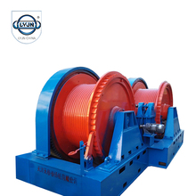 1.5~30 ton fast line speed electric winch